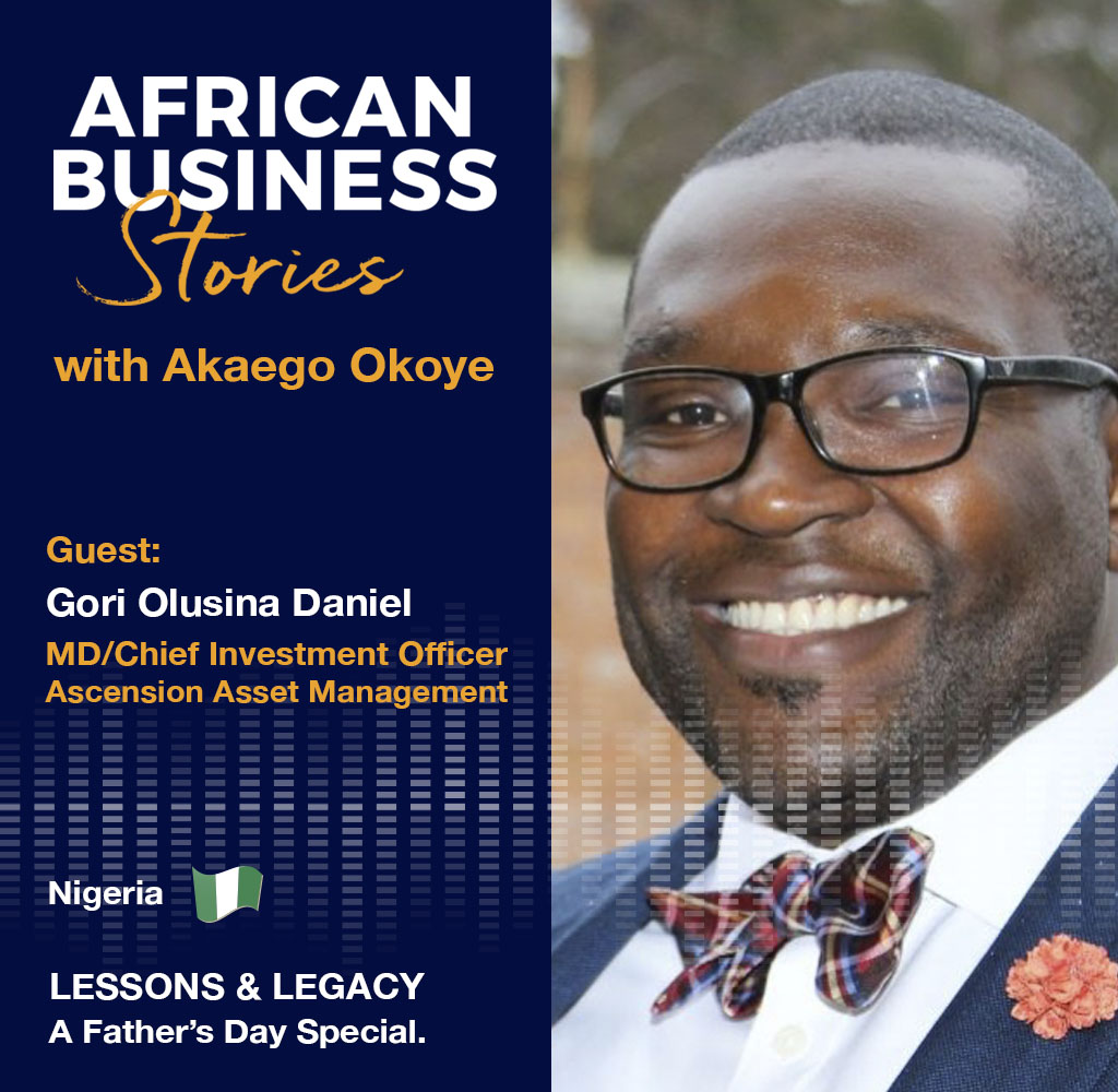 Lessons and Legacy with Gori Olusina Daniel