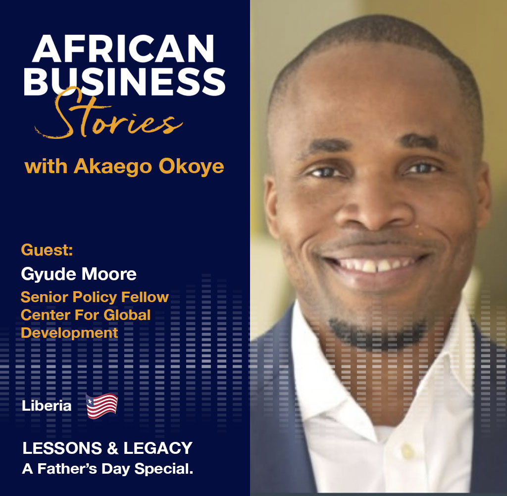 Lessons and Legacy with Gyude Moore